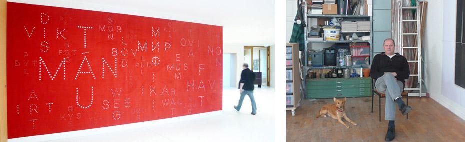 Ausstellung und Atelier von Bernhard Garbert