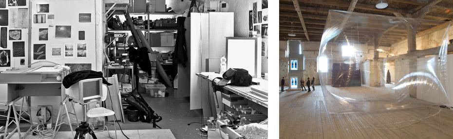 Atelier und Ausstellung von Hendrik Lörper