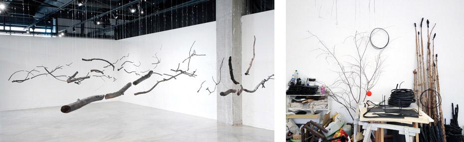 Ausstellung und Atelier von Ulrike Mohr