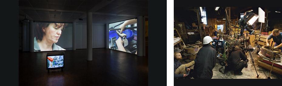 Ausstellung und Atelier von Anette Rose