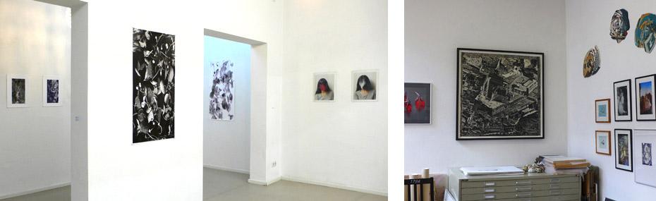 Atelier und Ausstellung von Nanae Suzuki