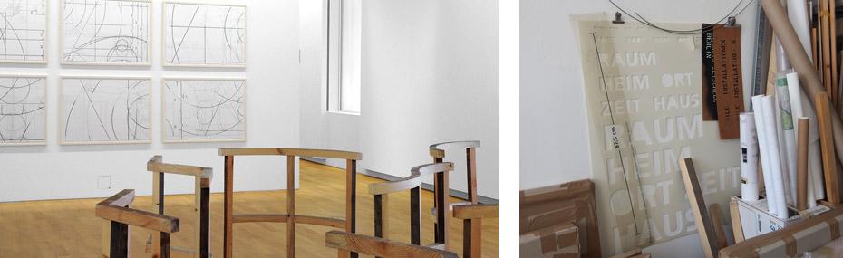 Ausstellung und Atelier von Francis Zeischegg